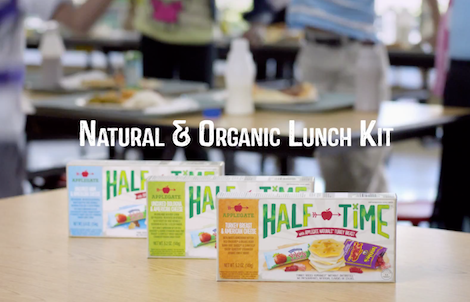 Applegate's HALF TIME™ – Natural and Organic Lunch Kit – 2014