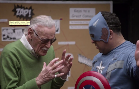 Stan Lee 'Cameo School', feat. Kevin Smith, Tara Reid, Michael Rooker, Jason Mewes and Lou Ferrigno
