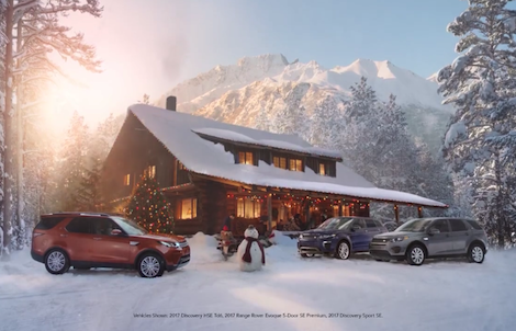 Land Rover Holiday Commercial – 2017